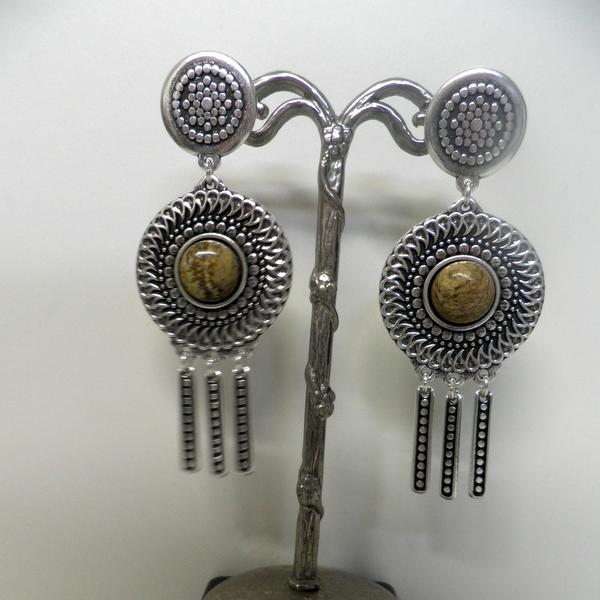 Boucles d'oreilles Shabada EBO09 Beiges