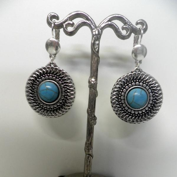 Boucles d'oreilles Shabada EBO06 Turquoise