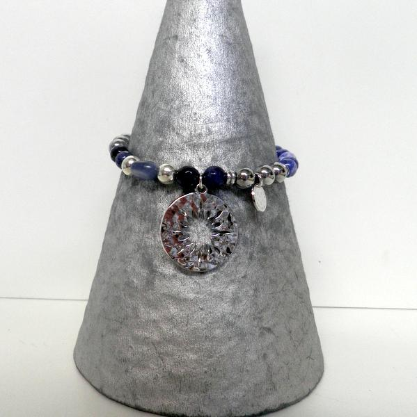 Bracelet Pluie d'Etoiles BPAELBL Bleu