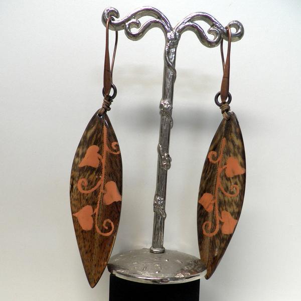 Boucles d'oreilles Nature Galinette 12-12035