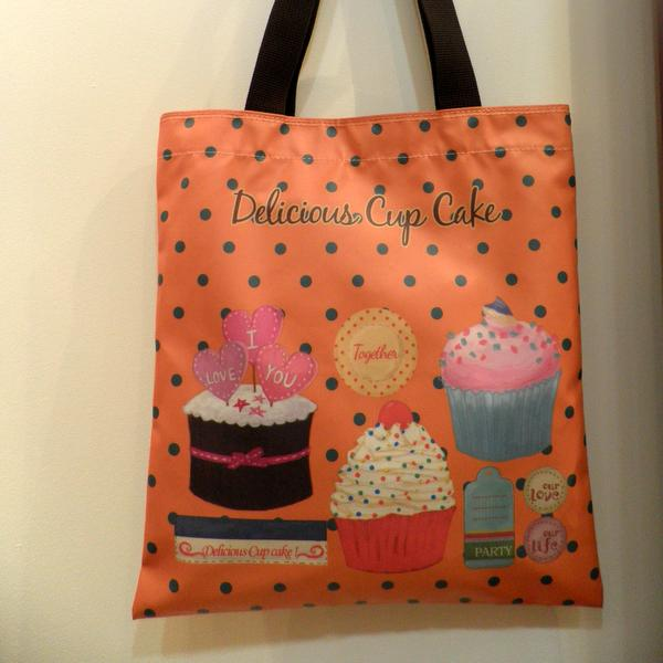 Sac Shopping Delicious Cup Cake