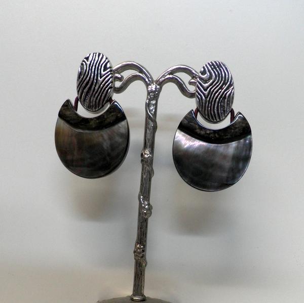 Boucles d'oreilles Nature Aquaterra 12-34442