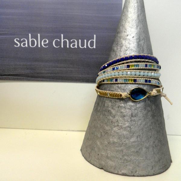 Bracelet Sable Chaud 240230 Bleu