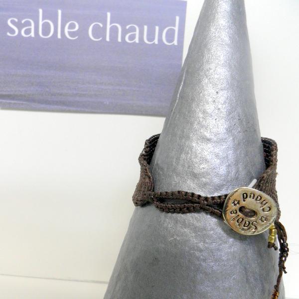 Bracelet Sable Chaud 240252 Marron