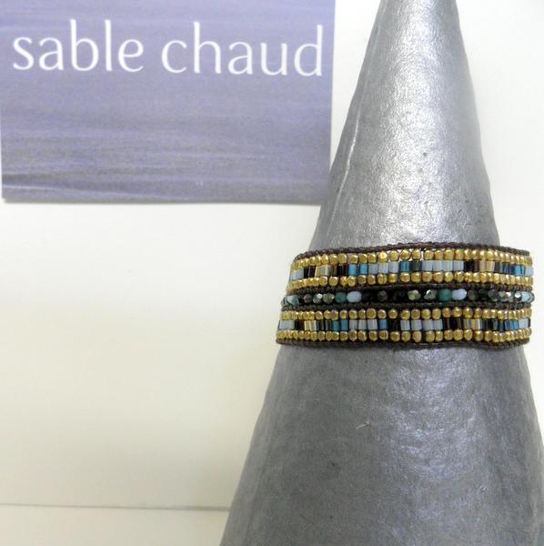 Bracelet Sable Chaud 240248 Turquoise
