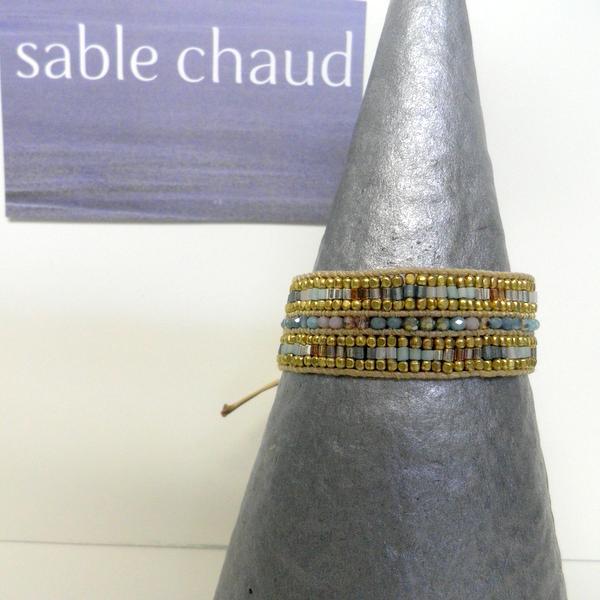 Bracelet Sable Chaud 240248 Bleu Ciel