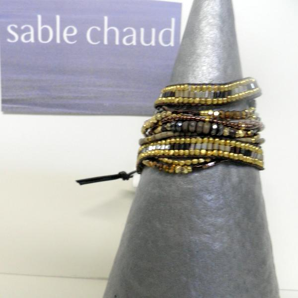 Bracelet Sable Chaud 240247 Marron